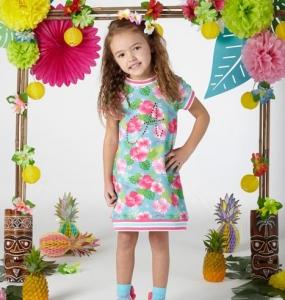ADEE S204711 DULCIE HAWAIIAN DRESS